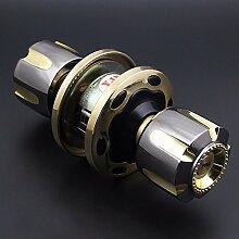 VanMe Tür-Innentür-Verschluss-Kugel-Verschluss-Holz-Verschluss-Schloss-Mechanische Verschluss-Runde Verschluss