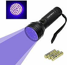 Vansky UV Schwarzlicht Taschenlampe mit 51 LEDs |