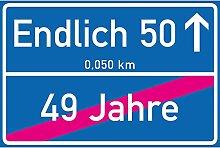 vanva Endlich 50 Jahre Ortsschild 50. Geburtstag