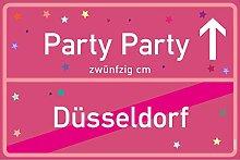 vanva Party Schild Party Party Düsseldorf Schild