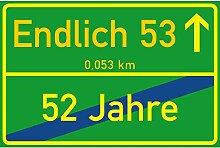 vanva Schild Endlich 53 Jahre Ortsschild 53.