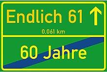 vanva Schild Endlich 61 Jahre Ortsschild 61.