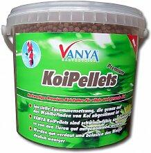 VANYA KoiPellets PREMIUM, 5 mm - 5.000 ml