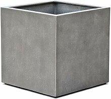 VAPLANTO® Pflanzkübel Cube 30 Beton Grau