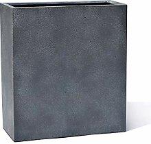 VAPLANTO® Pflanzkübel High Box 60 Blei Grau