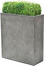 VAPLANTO® Pflanzkübel High Box 90 Beton Grau