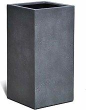 VAPLANTO® Pflanzkübel High Cube 70 Blei Grau