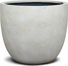VAPLANTO® Pflanzkübel New Egg Pot 60 Creme Weiß