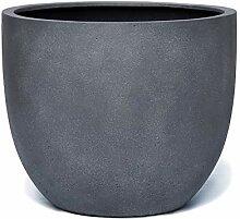 VAPLANTO® Pflanzkübel New Egg Pot 70 Blei Grau