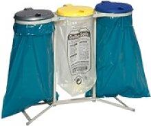 VAR Abfallsammler 3-fach, für 120 Liter