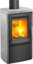 Varde Ovne V100029 Kaminofen Varde Aura 3 Naturstein Grau