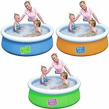 VARILANDO Fast Set Kinder-Pool Kinder-Planschbecken Ø 152 cm
