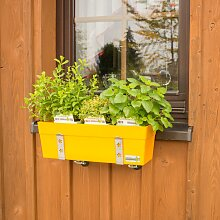 Vario-Fix GREENBAR vor der Fensterbank