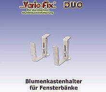 Vario-Fix - sturmsichere Blumenkasten Halter -