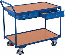 VARIOfit Tischwagen mit gebogenem Schiebegriff, 2