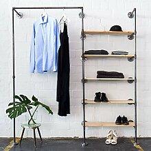 Various Kleiderschrank im Industrial Design -