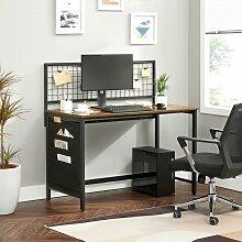 VASAGLE Computertisch, Schreibtisch mit