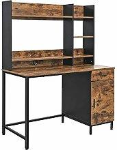 VASAGLE Schreibtisch, Computertisch mit