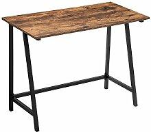 VASAGLE Schreibtisch im Industrie Design,