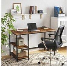 VASAGLE Schreibtisch LWD47X LWD47MB, Schreibtisch,
