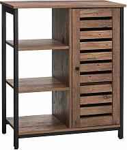 VASAGLE Sideboard |Küchenschrank mit 3 offenen