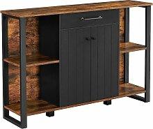 VASAGLE Sideboard, Küchenschrank mit Schublade,