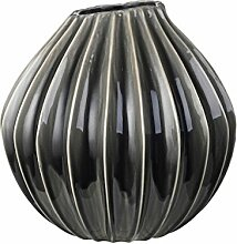 VASE 'WIDE', XL, Smoked Pearl