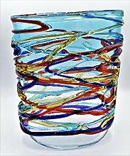 Vase aus Murano-Glas, handgefertigt von uns