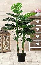 Vase C/Pflanze Grün cm.17x 100h