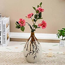 Vase DecorSchöne Bambus glasierte keramische Vase