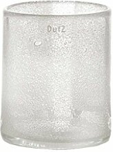 Vase Dutz CYLINDER clear bubbles (H35 D15)