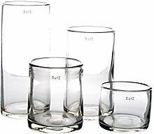 Vase Dutz CYLINDER H35 D15 - hohe glasvase glas