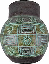 Vase Tonvase Teracottavase Blumenvase aus Ton 30