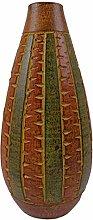Vase Tonvase Teracottavase Blumenvase Keramik