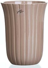 Vase, Übertopf, Blumentopf COUNTRY braun H 20cm