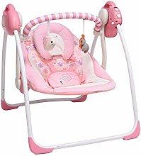 VASTFAFA Elektrische Babyschaukel&Babywippe mit
