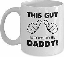 Vater Geschenkbecher-Dieser Kerl wird ein Vater