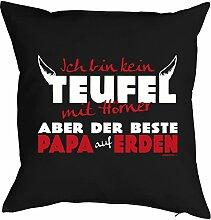 Vatertag Vatertagsgeschenk Papa Kissen Geburtstag Weihnachten Geschenk Geschenkidee für Papa Der beste Papa auf Erden