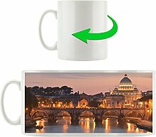 Vatikanstadt, Motivtasse aus weißem Keramik 300ml, Tolle Geschenkidee zu jedem Anlass. Ihr neuer Lieblingsbecher für Kaffe, Tee und Heißgetränke.