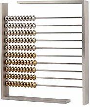 VAU Abacus Design Metall Geschenk Wohnaccessoire