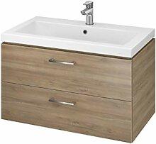 VBChome Badmöbel Waschbecken mit Unterschrank