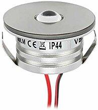 VBLED® 3W LED Mini Spot, Einbaustrahler 3000K