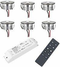 VBLED® 3W LED Mini Spot Einbaustrahler