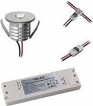 VBLED® 6er Set 3W Mini-Einbauspot Einbaustrahler