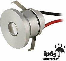 VBLED® LED Aluminium Mini Einbaustrahler IP65-1W
