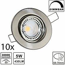 VBLED® LED Einbaustrahler Einbauspots