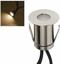 VBLED® Mini Boden-Einbaustrahler 0.3W LED,