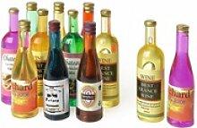 VBS Dekofigur Flaschen, 12 Stück