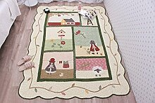 VClife 100% Baumwolle Teppich Matte Kinderteppich