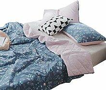 VClife Baumwolle Sommerdecke Tagesdecke Bettdecke